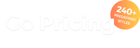 Go Pricing - A fresh, clean design combined with the coolest animations.